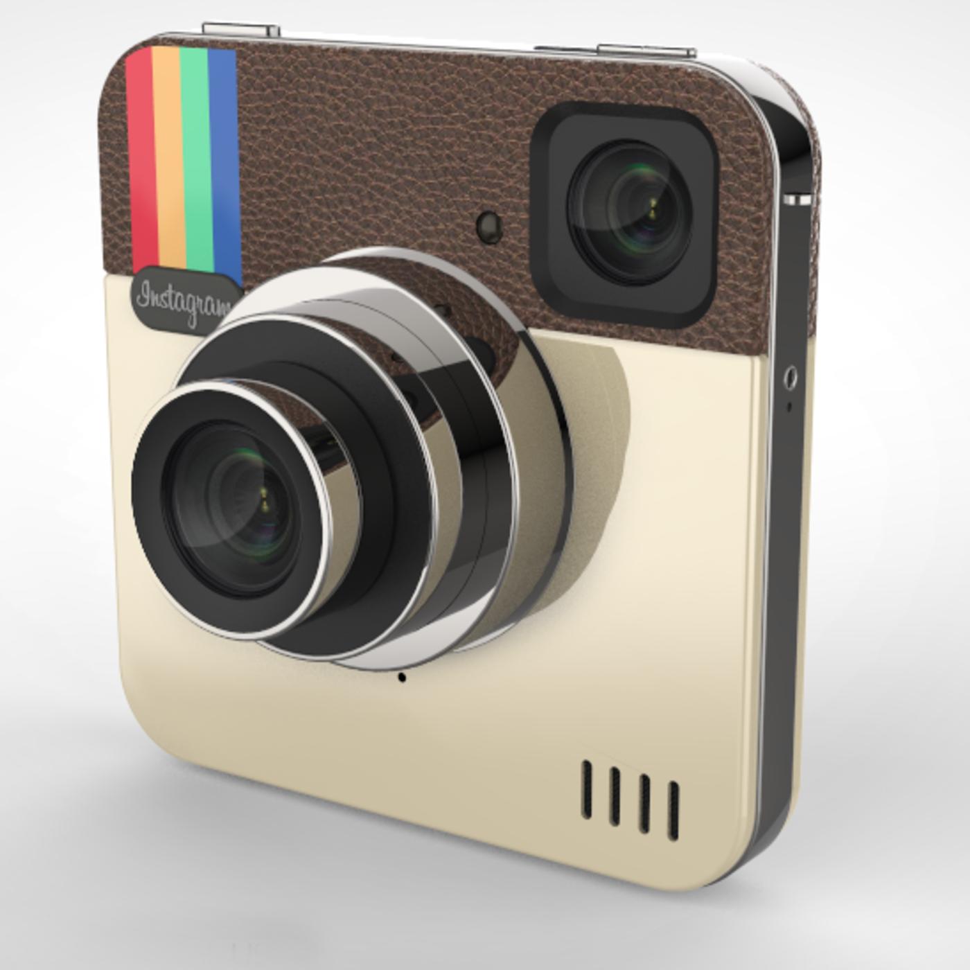 Camera Instagram 3D model