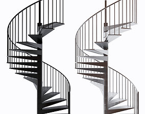 spiral-staircase Stairs 3D