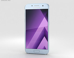 3D Samsung Galaxy A3 2017 Blue Mist
