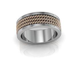 bandring 3D print model rope ring