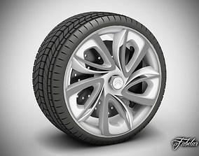 3D model Citroen GT wheel