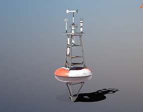 3D model TAO Weather Data Buoy - PBR