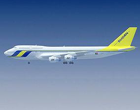 3D model Sudan Airways Boeing