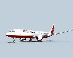 Bombardier CS100 Air Charter America 3D model