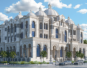 Luxury Classic Grand Palace 3D model
