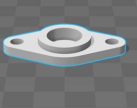 bearings holder D13 B5 d5 3D print model