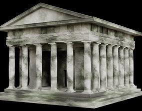 Ruined Greek Temple 3D model