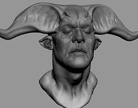 3D model Fantasy Creature Head character