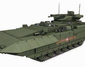 T-15 Armata Russian Heavy APC Game PBR Model 3D asset