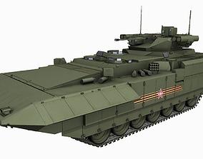 T-15 Armata Russian Heavy APC Game PBR Model VR / AR ready
