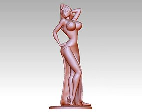 3D print model cartoon Woman character