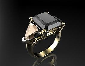 sterling ring 3d print model J159
