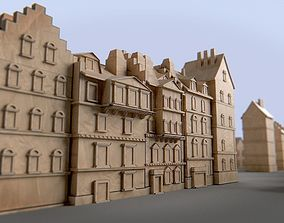 3D asset Paper Buildings and Building Model Kit