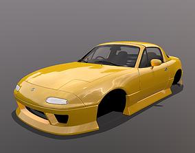 Mazda MX-5 Miata Arios Type 1 bodykit 3D asset