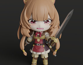 3D printable model Chibi Raphtalia