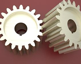 3D printable model Original Size Gear Wheel with 20 5