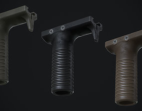 KWA Front Grip 3D asset