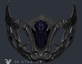 Sub-Zero New Mask - Mortal Kombat 3D printable model 4