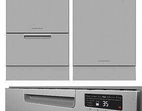 3D Dishwasher Fisher Paykel DD60DCHX9 DW60FC2X1