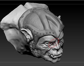 3D print model Cabeza de Orco
