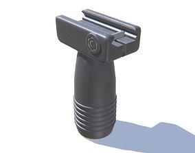 Vertical Fore Grip 3D asset