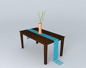3D model Espresso Table