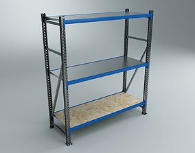 Blue Shelves 3D