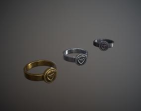 Three Rings 3D model