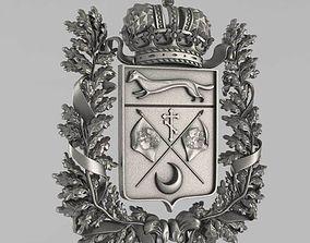 3D printable model The emblem of Orenburg region