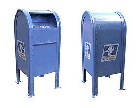 3D model Generic US Mailbox