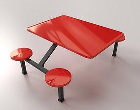 Restaurant Furniture 3D model