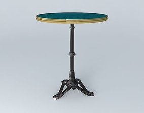BISTRO TABLE RONDE ARDAMEZ Company blue 3D model
