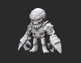 Dread Knight Doom Collectable Toy 3D Model STL File