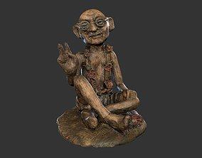Gandhi Peace 3D model VR / AR ready