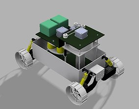 3D model lunar sampling VEHICLE