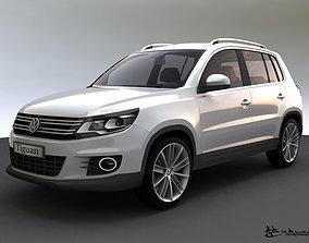 Volkswagen Tiguan 2012 Sport Style 3D