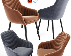 3D Rochelle Strip Lounge Chair