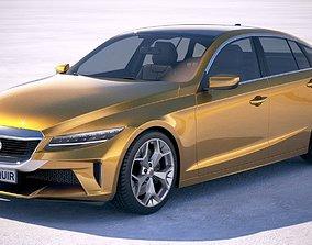 Generic Sedan 2019 3D model