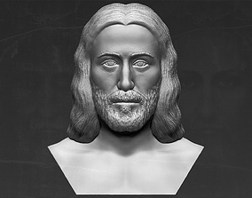 Jesus reconstruction based on Shroud of Turin 3D 1