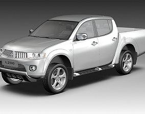 3D 2011 Mitsubishi L200 4WD
