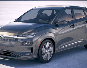 Hyundai Kona Electric 2019 3D