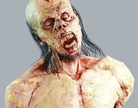 Zombie Abomination 3D asset