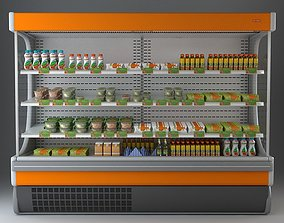 Refrigerated Display Case 3D