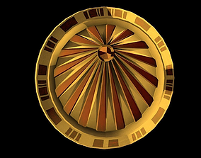 Space Coin 3D model