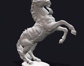 Horse Rearing 3D Print Sculpture
