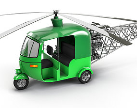 3D model Auto Helicopter