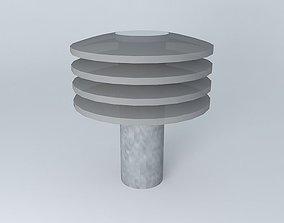 3D beacon garden light