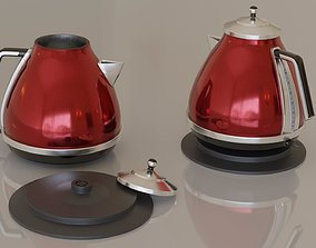 Contemporary colourful kettle1-red 3D asset interior