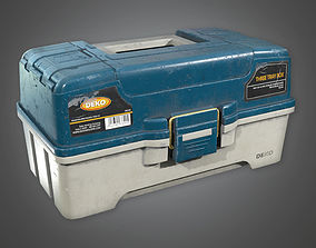 Tacklebox 02 TLS - PBR Game Ready 3D model