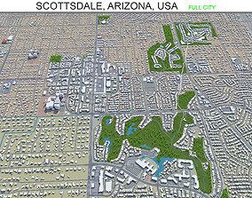 3D asset Scottsdale Arizona USA 60km